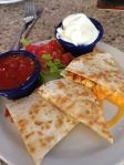 Rosirs- Chicken Quesadilla